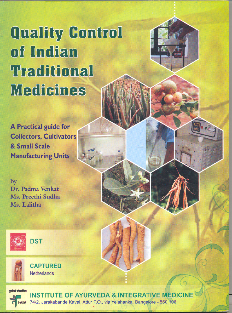 Quality Control of Indian Traditional Medicines